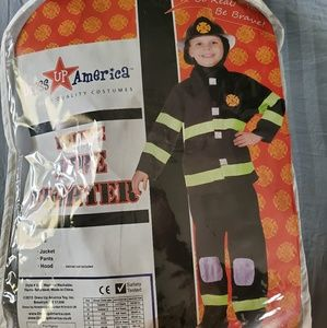 Boys Deluxe Fire fighter with fire fighter hat